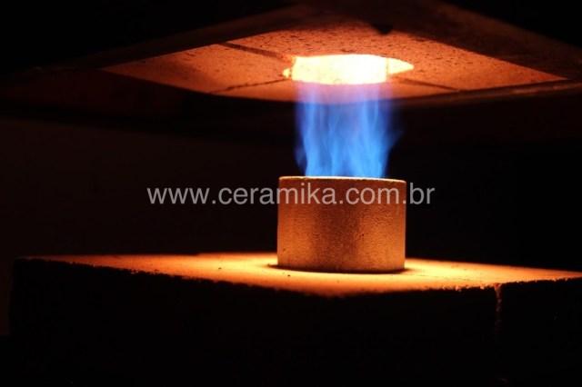maçarico forno ceramica
