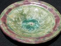 vidrado cristalino em queima de redução