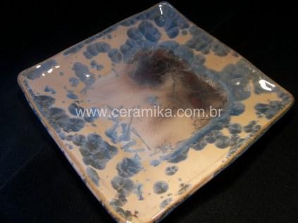 ceramica com esmalte cristalino