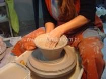 modelagem em torno eletrico para ceramista