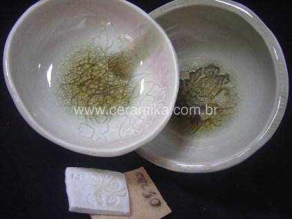esmaltes celadon em teste
