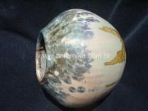 argila stoneware com vidrado cristalino