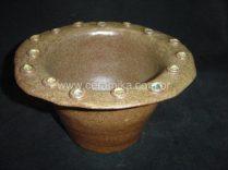 vaso em stoneware