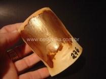 testando esmalte para efeito metalizado