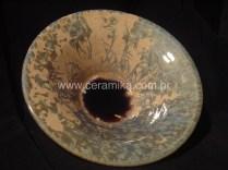 ceramica cristalina em forno à gás