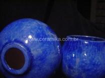 cristalizações em peças ceramicas