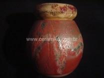 pote ceramico com tampa