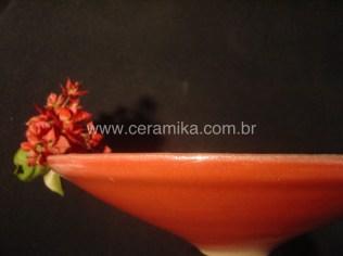 vidrado ceramico vermelho