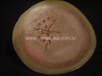 ceramica em forno à gás
