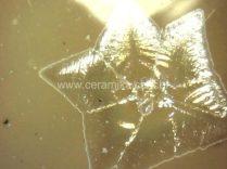 cristal em forma de estrela