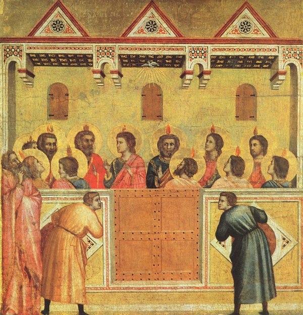 Pentecoste secondo Giotto