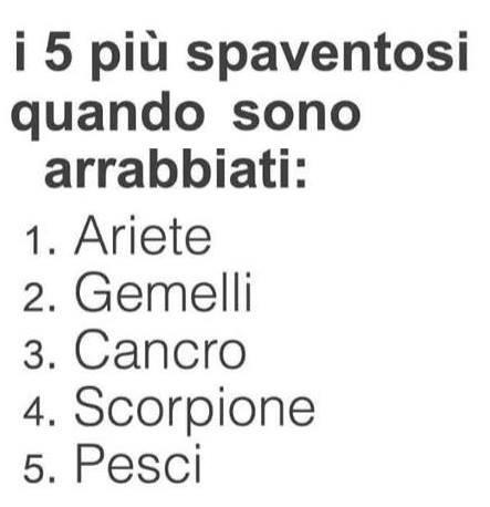 I 5 segni zodiacali più spaventosi quando sono arrabbiati