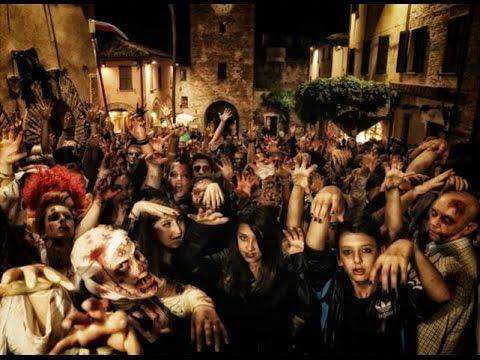 Giocatori come zombie! Immagine tratta dal trailer ufficiale della zombie walk di Gradara