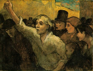 Honore_Daumier_The_Uprising