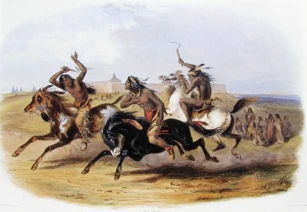 Karl_Bodmer_-_Horse_Racing_of_the_Sioux_(Source)