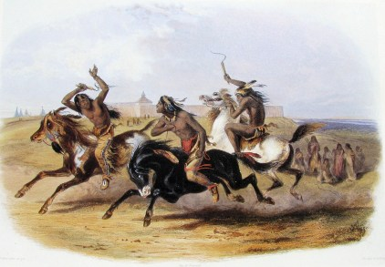 Karl_Bodmer_-_Horse_Racing_of_the_Sioux_(Source) copie