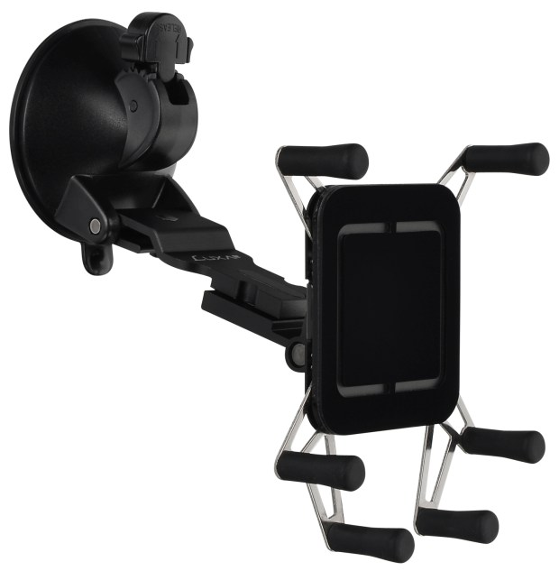 LUXA Release the New 360° All Aluminum H5-Note Car Mount Holder_2