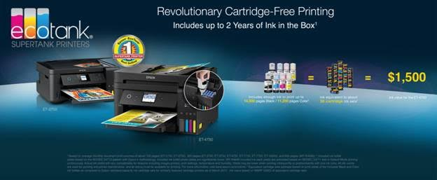 Epson Expands All-In-One Supertank Printer Line and Improves