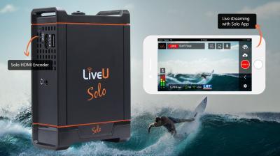 LiveU Expands Solo Portfolio to Enhance Live Streaming
