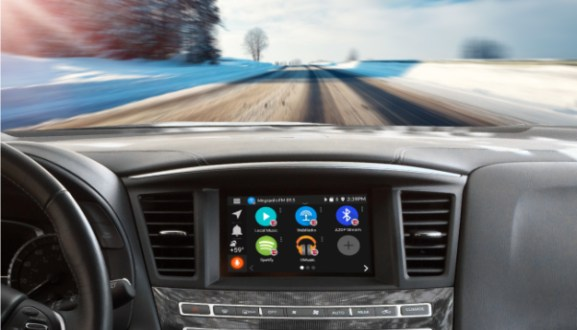 Grom Audio Presents Connected Car Apps and Google® and Waze