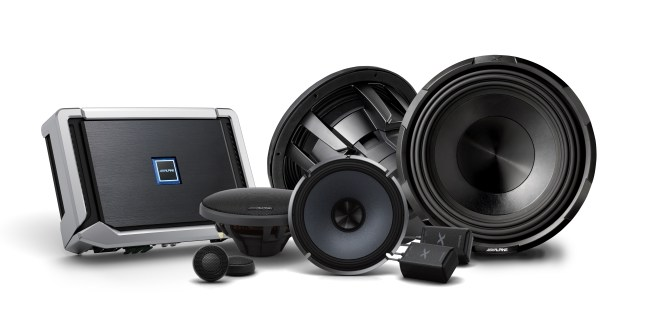 Alpine Intros New S-Series Speakers, Subwoofers and Tough