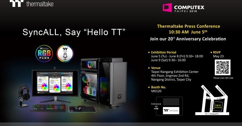 Thermaltake brands at COMPUTEX 2018 – Foreword Thermaltake