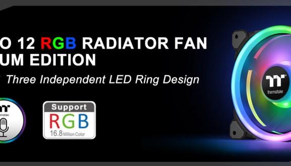 Thermaltake Releases Riing Trio 20 RGB Case Fan TT Premium