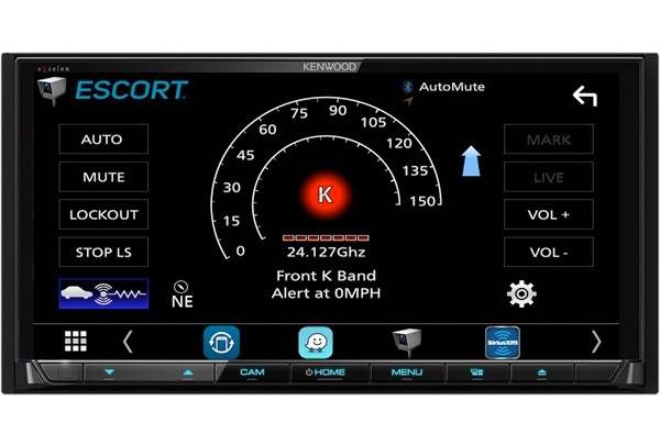 KENWOOD ANNOUNCES COMPATIBILITY WITH ESCORT PREMIUM