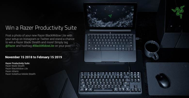Razer brings top performance components and raises the