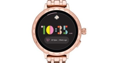 Photo of Kate Spade New York Introduces New Scallop Smartwatch 2 Collection