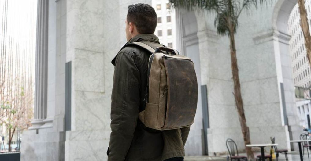 fa2d425b959 Sutter Slim Backpack Lightens the Work Load — New from WaterField ...