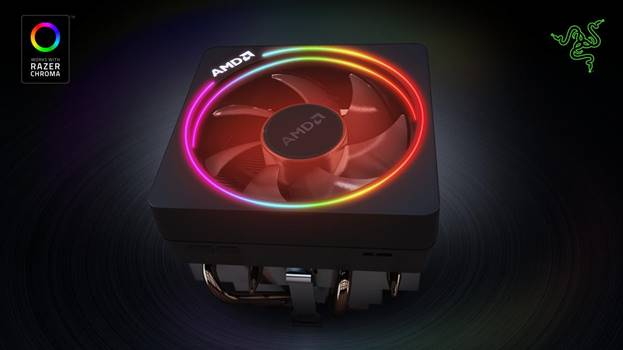 Light up your AMD Wraith Prism cooler with Razer Chroma