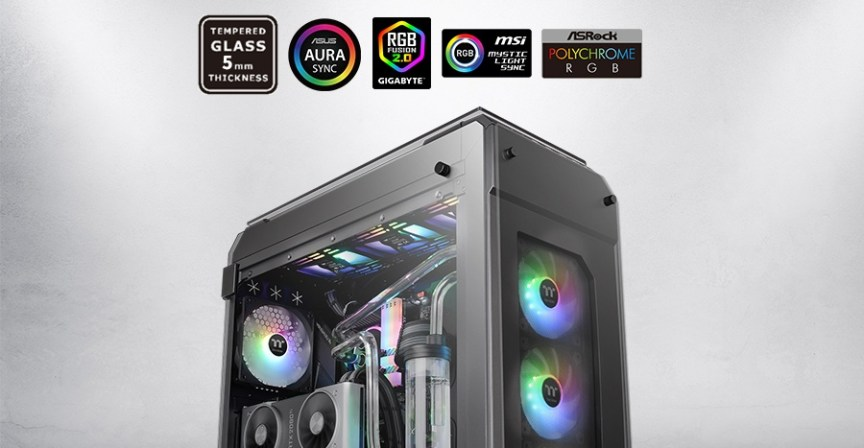 Thermaltake View 71 Tempered Glass ARGB Edition Full-Tower