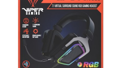 Photo of VIPER GAMING by PATRIOT™ launches Viper V380 Virtual 7.1 Surround Sound RGB Gaming Headset