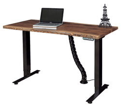 Photo of New Desk from Weaver Meets Needs for Standing Work Stations