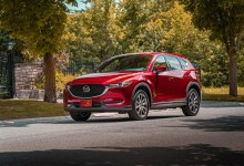 "Photo of 2020 MAZDA3 SEDAN AND HATCHBACK, MAZDA6, CX-3, CX-5 EARN IIHS ""TOP SAFETY PICK+"" AWARD"