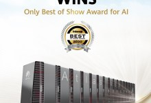 Photo of Huawei Atlas 900 AI Cluster Wins the Only Best of Show Award for AI at Interop Tokyo 2020