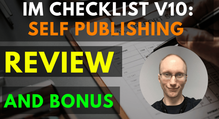 IM Checklist Volume 10 – Self Publishing