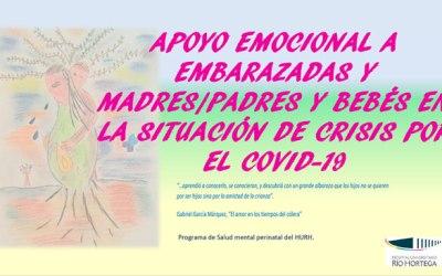 Apoyo emocional a embarazadas, madres y padres y bébes