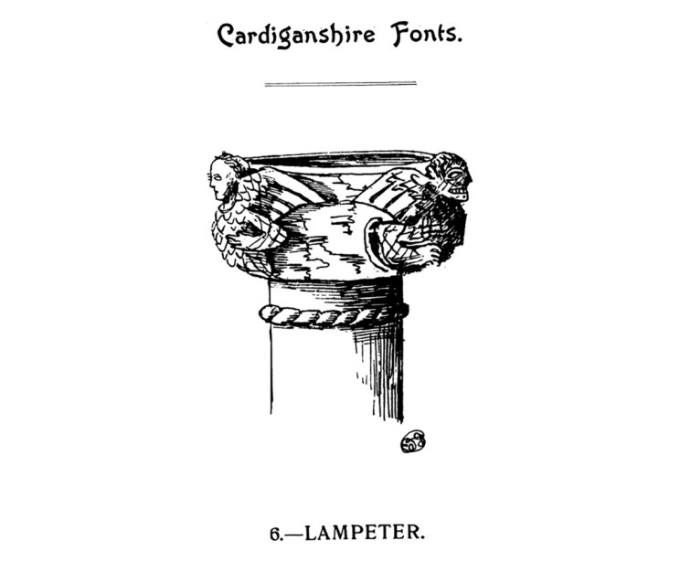 Cardiganshire Fonts - Lampeter