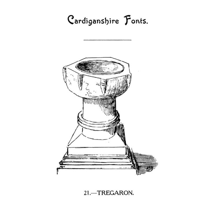 Cardiganshire Fonts - Tregaron