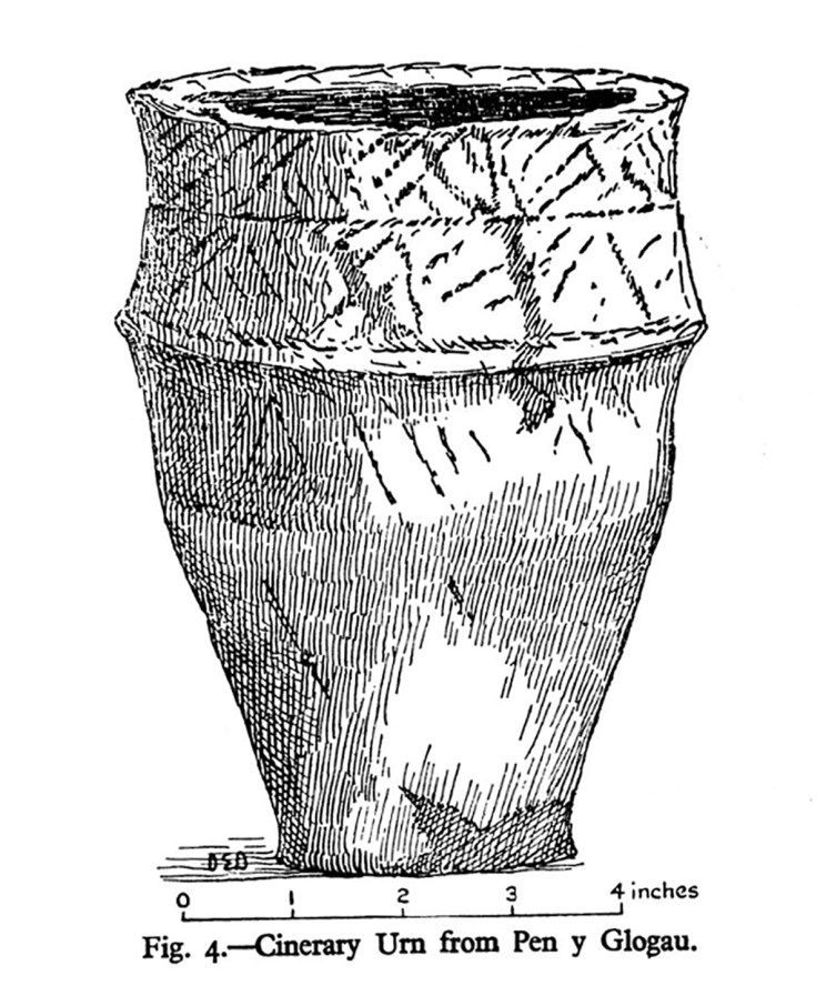 Cinerary Urn from Pen y Glogau