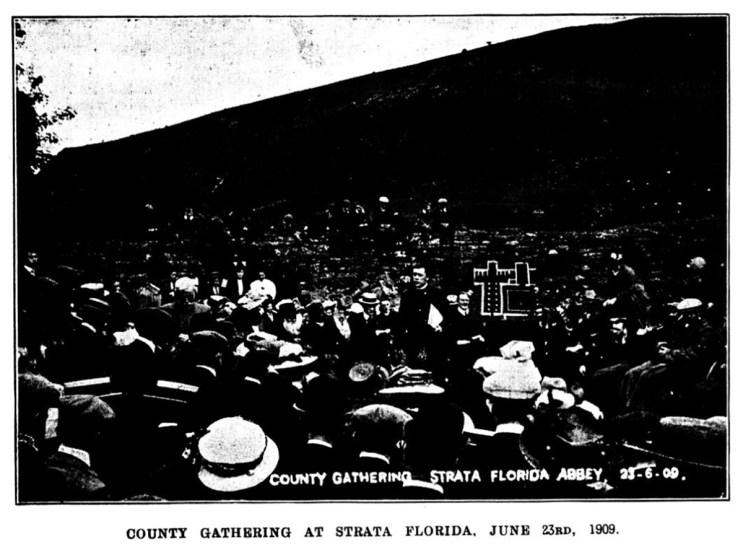 Casgliad y Sir yn Ystrad Fflur, 23 Mehefin 1909