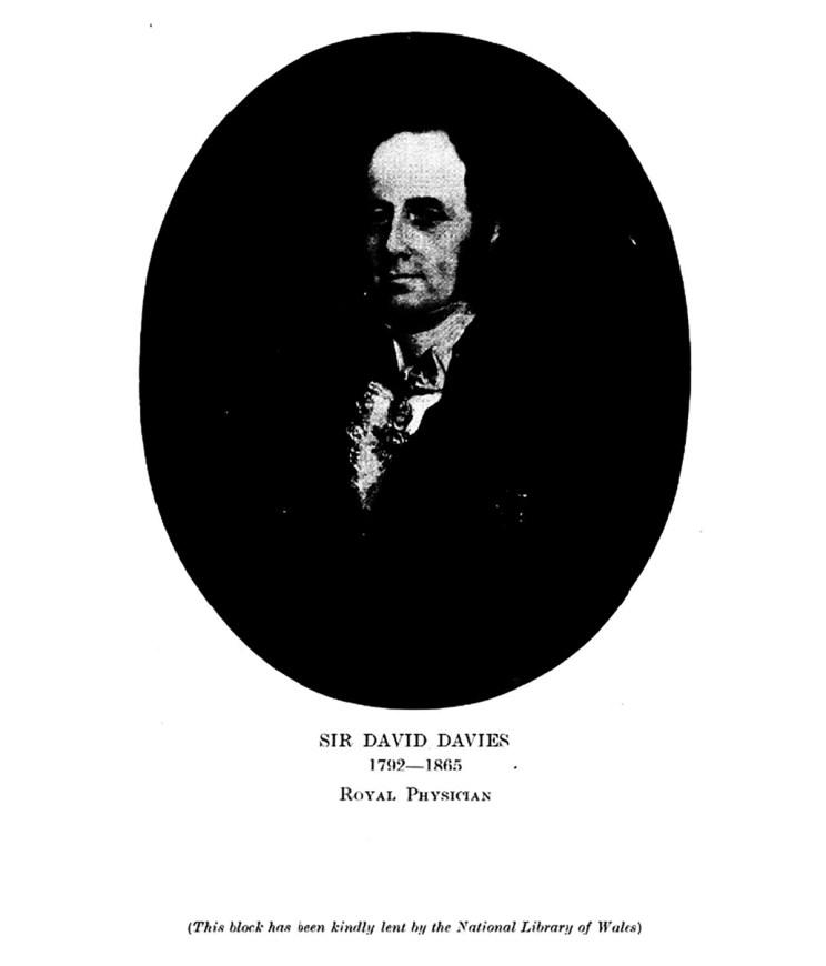 Sir David Davies 1792-1865 Royal Physician