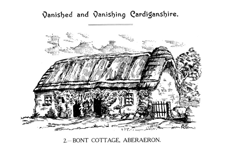 Vanished and Vanishing Cardiganshire - Bont Cottage Aberaeron