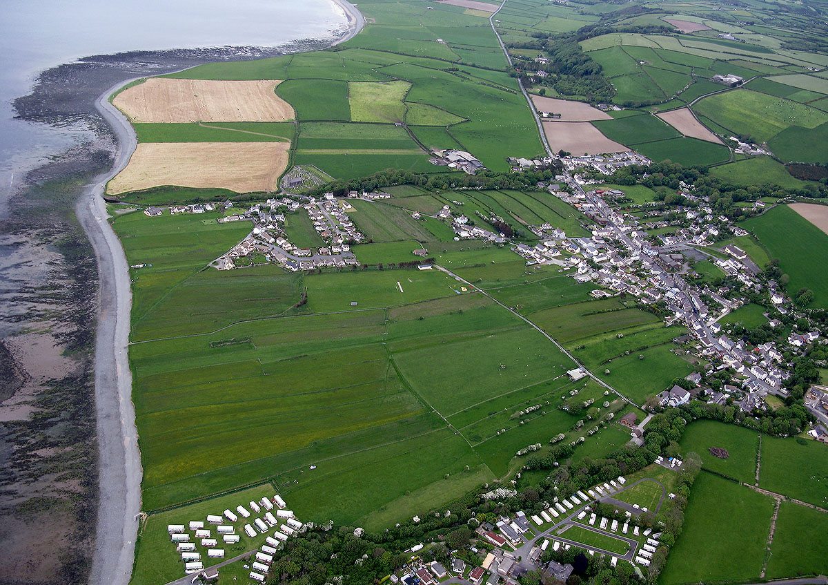 Llanon's historic field strips - Discover the archaeology, antiquities and history of Ceredigion