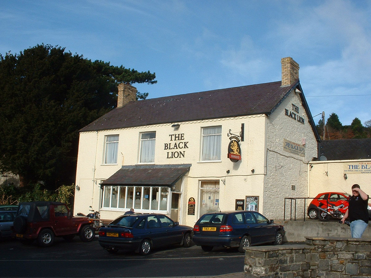 Llanbadarn Fawr Black Lion – Discover the archaeology, antiquities and history of Ceredigion
