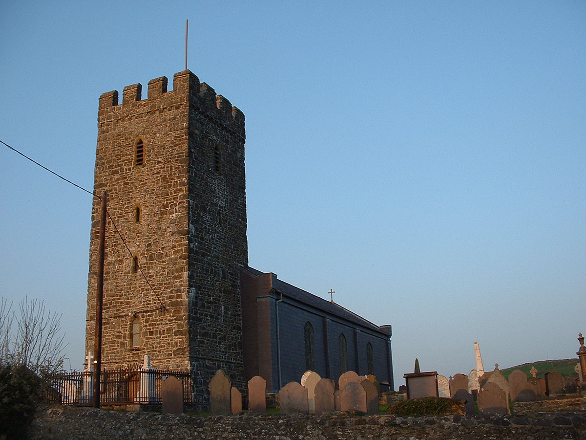 Llansantffraed church Llanon – Discover the archaeology, antiquities and history of Ceredigion