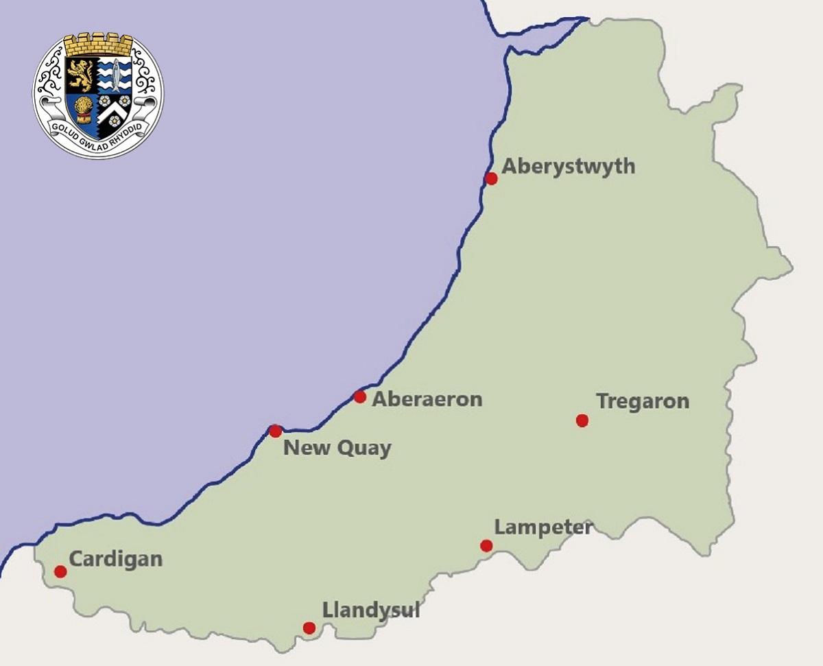 Ceredigion (Cardiganshire) Towns - Ceredigion Historical Society