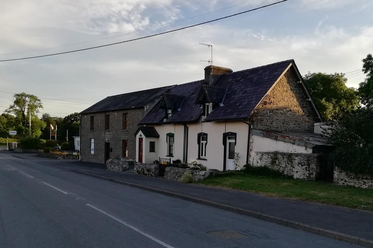 Red Lion Inn Talsarn, Ceredigion, now closed